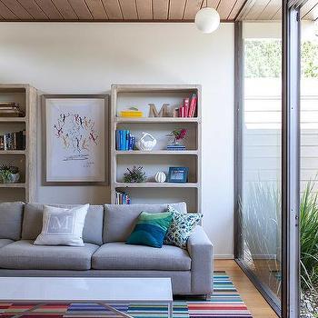 Modern, Living Room