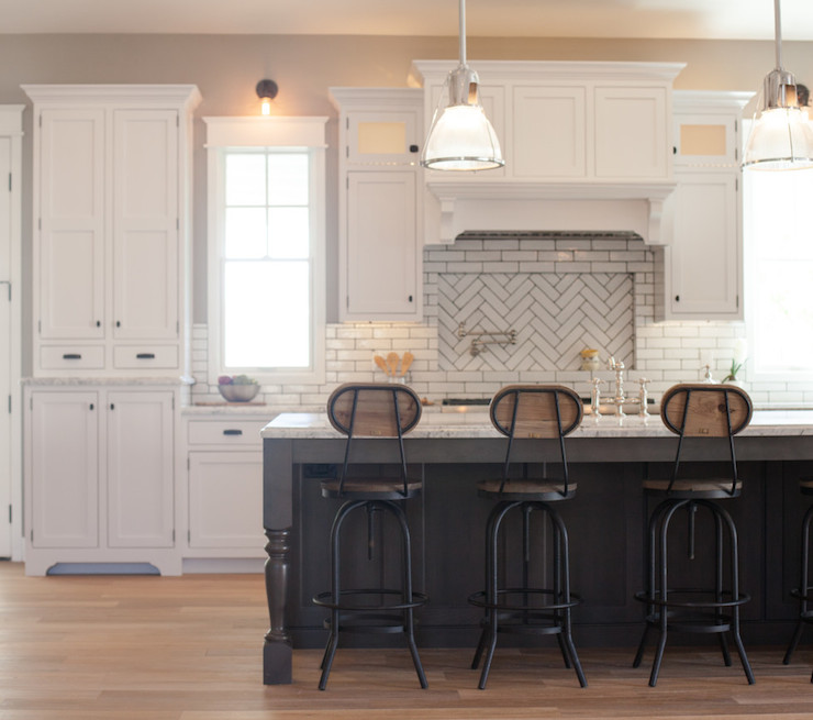 My Rafter House: Wood And Iron Barstools