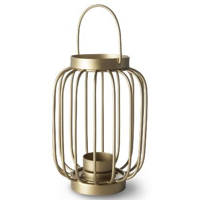 Oh joy metal wire lantern candle holder i target for Wire candle lantern