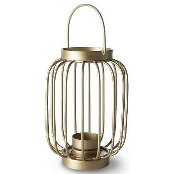 Decor/Accessories - Oh Joy! Metal Wire Lantern Candle Holder I Target - gold wire candle lantern, gold wire candle holder, gold candle lantern,