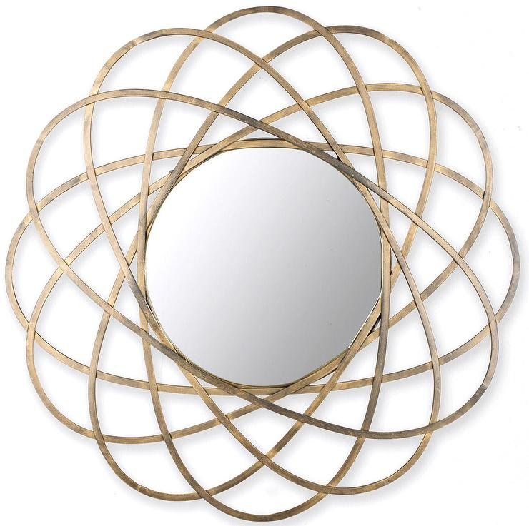 Scenario Home Gold Galaxy Sunburst Mirror Look for Less