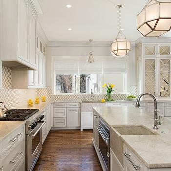 Long Lafitte Pendant, Transitional, kitchen, Moore Architects