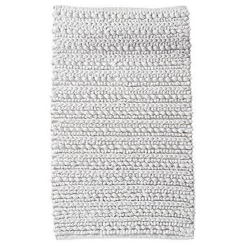 Bath - Threshold Chunky Bath Rug I Target - chunky white bath mat, chunky white bath rug, white woven bath rug,
