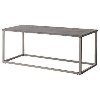 Tables - Threshold Heatherstone Metal Patio Coffee Table I Target - metal patio table, modern patio table, patio coffee table, industrial patio coffee table,