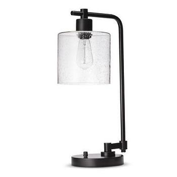 Lighting - Threshold Seeded Glass Edison Table Lamp I Target - industrial seeded glass lamp, seeded glass shade lamp, seeded glass edison lamp, edison table lamp,
