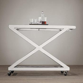1950s Milo Bar Cart I Restoration Hardware