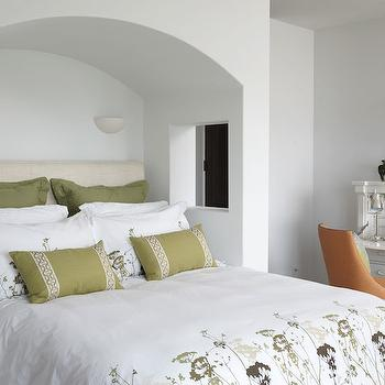Bed Alcove, Transitional, bedroom, Lillian August