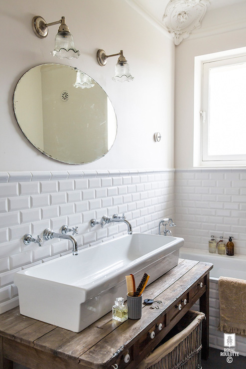 ... trough sink, shared sink, shared bathroom sink, shared vanity sink