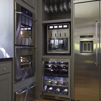 Home Wine Dispenser, Transitional, kitchen, NV Design