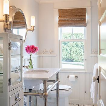 Pale Blue Paint Colors, Transitional, bathroom, Sherwin Williams Mountain Air, Ronald F DiMauro Architects