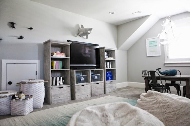 Attic Playroom Ideas Transitional Boy S Room