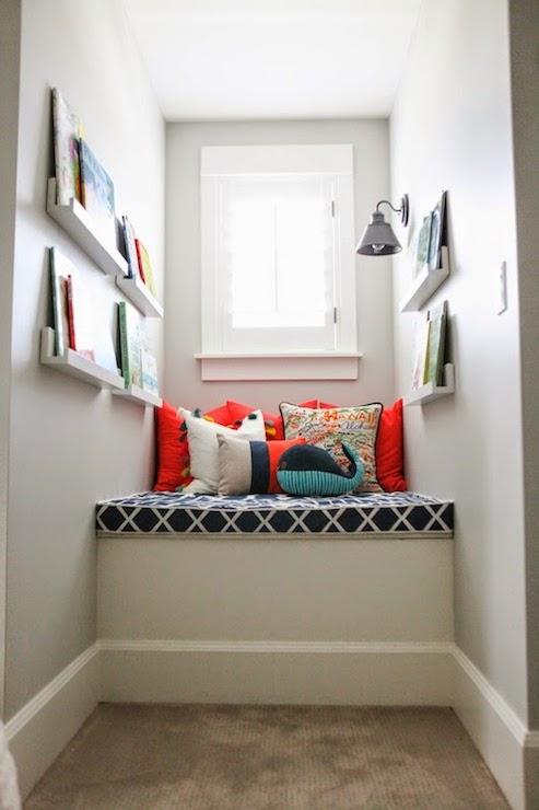 Dormer Window Reading Nook Transitional Boy S Room