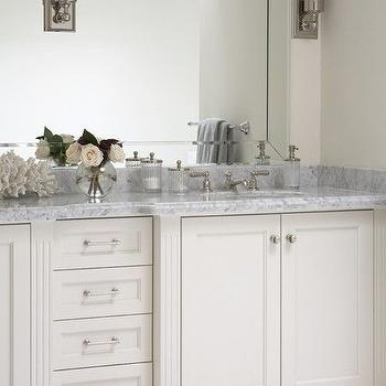 Gray Marble Countertop, Transitional, bathroom, House & Home