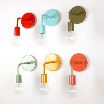 Colored wall sconce I onefortythree