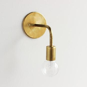 All-brass wall sconce [Single & Double] I onefortythree