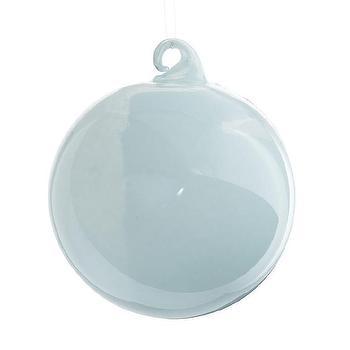 Milk Glass Globes, Small Aqua I Wisteria