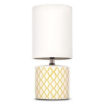 Room 365 Yellow Lattice Accent Lamp I Target