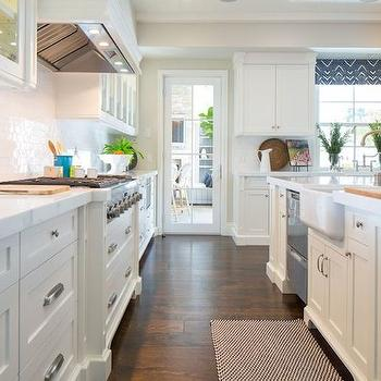 Stacked Island Dishwashers, Transitional, kitchen, Kelly Nutt Design