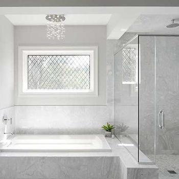 Shower Tub Combo, Transitional, bathroom, Summit Signature Homes