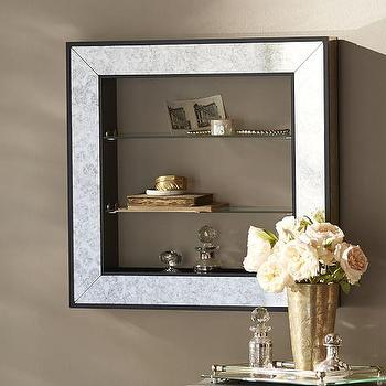 Shelf Mirror Shadowbox I Pottery Barn