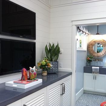 TV Room Ideas, Contemporary, media room, Kelly Nutt Design