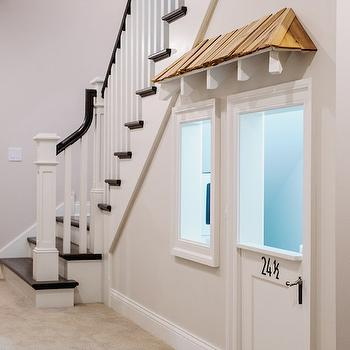 Under The Stairs Playroom, Transitional, entrance/foyer, Summit Signature Homes