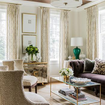 Worlds Away Lucy Cabinet, Transitional, living room, Erin Gates Design