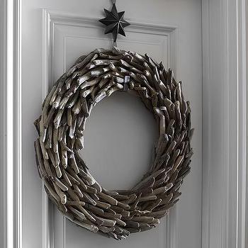 Art/Wall Decor - Driftwood Wreath I Pottery Barn - driftwood wreath, nautical wreath, coastal wreath,