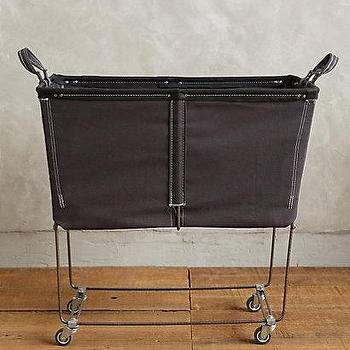 Steele Square Canvas Bin In Laundry Crate And Barrel
