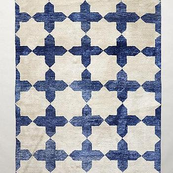 Checkered Stars Rug I Anthropologie