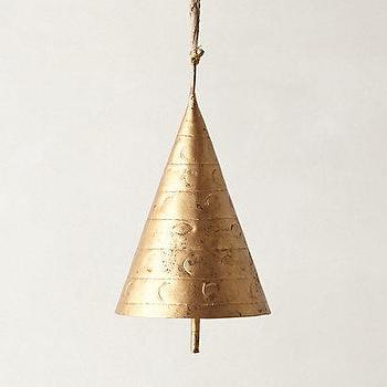 Decor/Accessories - Siphon Chime I Anthropologie - copper chime, copper chime bell, copper bell,