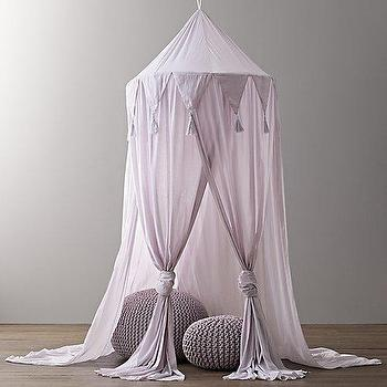 Cotton Voile Play Canopy I RH Baby and Child