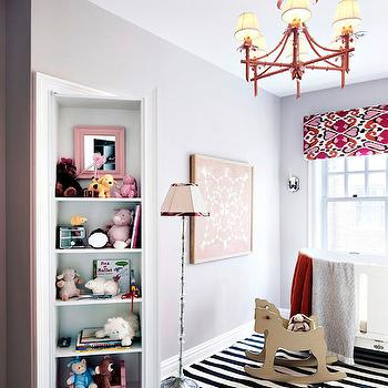 Secret Bookcase Door, Transitional, nursery, Rob Stuart Interiors