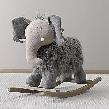 Wooly Plush Rocking Animal I RH Baby and Child