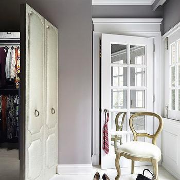 Secret Rooms, Transitional, closet, Rob Stuart Interiors