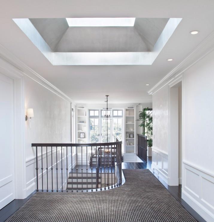 Landing Window Seat, Transitional, entrance/foyer, RT Abbott Construction