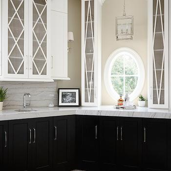 Tuxedo Cabinets, Transitional, kitchen, Summit Signature Homes