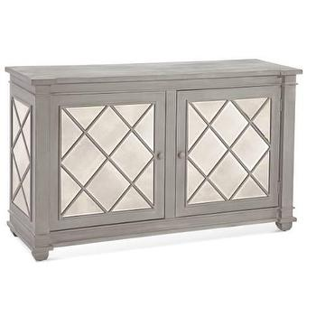 Bassett Mirror Ada Cabinet in Grey I Homeclick
