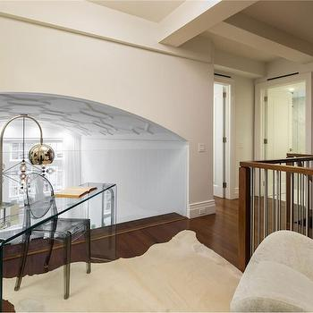 Glass Railing, Contemporary, entrance/foyer