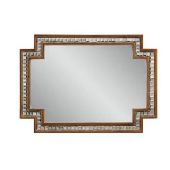Mirrors - Hollywood Glam Garibaldi Wall Mirror I Homeclick - hollywood regency mirror, gold mirror mosaic mirror, mirror mosaic framed mirror,