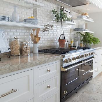 Beveled Mini Subway Tiles, Transitional, kitchen, Fleming Distinctive Homes