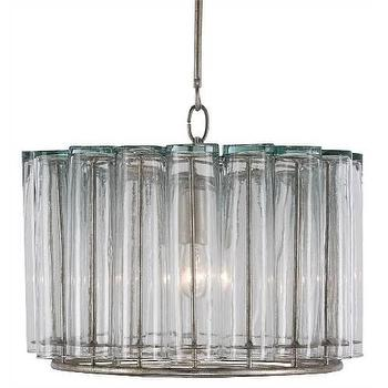 Lighting - Currey and Company Bevilacqua 1 Light Pendant I Homeclick - bud vase pendant, glass flute pendant light, recycled glass pendant light,
