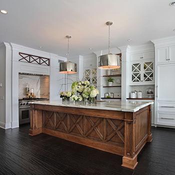 Robert Abbey Porter Pendant, Transitional, kitchen, Fleming Distinctive Homes