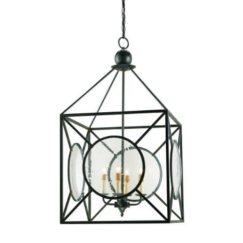 Currey And Company Manuscript Pendant: Currey And Company Lillian August Beckmore 4 Light Pendant