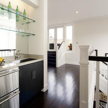 Wet Bar Ideas, Transitional, entrance/foyer, McMahon Architects