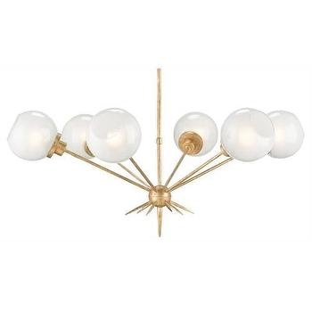 Currey and Company Shelly 4 Light Chandelier I Homeclick