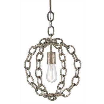Currey and Company 9340 Lugo 1 Light Pendant I Homeclick