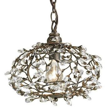Currey and Company 9003 Dream 1 Light Pendant in Cupertino I Homeclick