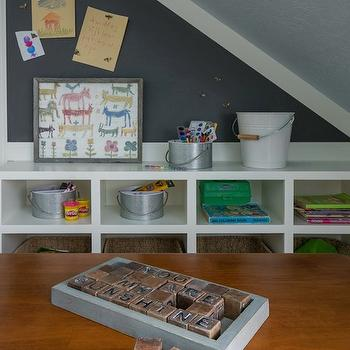 Attic Playroom Ideas, Transitional, boy's room, Alice Lane Home