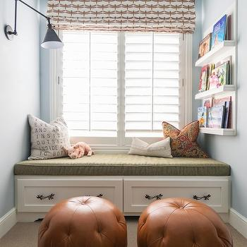 Kids Reading Nook, Transitional, boy's room, Alice Lane Home